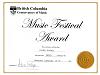 BCCM Gold Medal